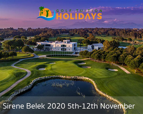 Turkish Airlines Open Tuition Trip  5* Sirene Belek Hotel